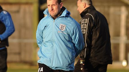The higher-level club Wayne Anderson is joining has been confirmed as Dereham Town. Picture: IAN BUR