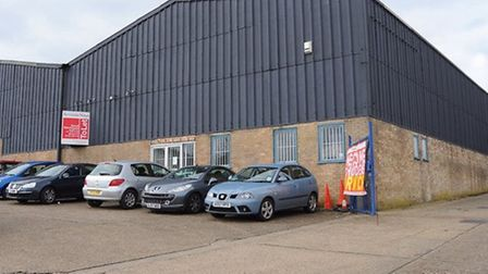 The warehouse on Whiffler Road which could become an indoor trampoline park. Photo: DENISE BRADLEY.