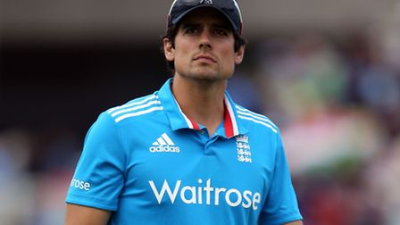 England captain Alastair Cook. Picture: PA