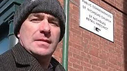 North Walsham town councillor David Spencer. Picture: SUBMITTED