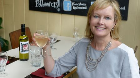 Jayne Raffles, co-director of Raffles Restaurants including Pinocchio's, in Norwich. Picture: submit