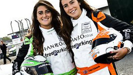 Sisters Chloe and Jade Edwards will drive for Stratton Motorsport.
