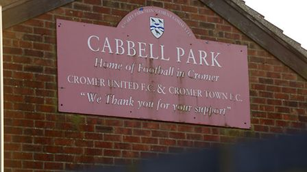 Cabbell Park, current home of Cromer Town FC.Photo by Mark Bullimore