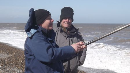 Competitors taking part in the first annual Norfolk Sea Angling Festival. Picture: SUPPLIED