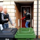 Norfolk police launch a series of morning drugs raids on properties in the Great Yarmouth area.Break