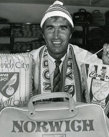 Duncan Forbes notched up 33 years with Norwich City.
