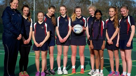 The Norwich School U13A netball team continued their unbeaten season at the Central Schools Area Tou