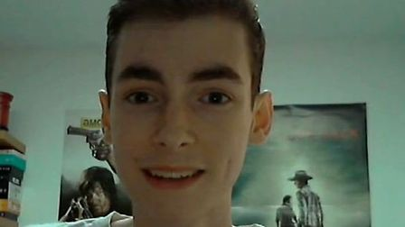 David in a screenshot from his last video.