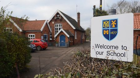 Mileham Primary School - a small school currently threatened with closure. Picture: Ian Burt