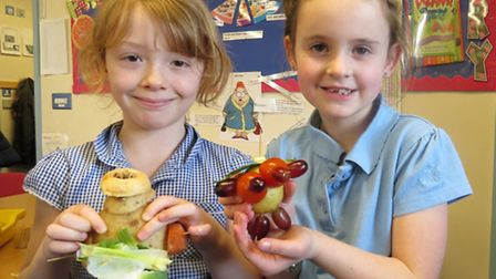 West Walton Community Primary School pupils show their creations