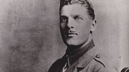 Harry Daniel VC at the height of his local celebrity