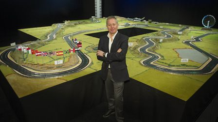 Scalextric has created Martin Brundles Ultimate 2015 Circuit, the biggest layout it has ever created