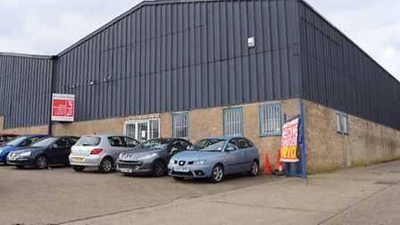 The warehouse on Whiffler Road which could become an indoor trampoline park. Picture: DENISE BRADLEY