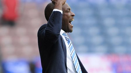 Huddersfield Town manager Chris Powell. Picture: Ryan Browne/PA Wire.