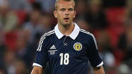 Jordan Rhodes in action for Scotland. Picture: Nick Potts/PA Wire