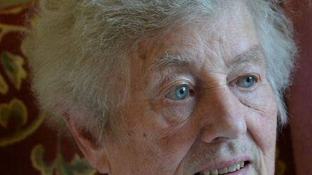 Patricia Hewett, who died on February 12, 2015, aged 87.