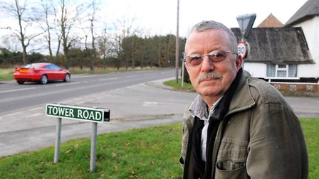 James Williams is calling for traffic calming measures along the A149 at Repps with Batswick after s