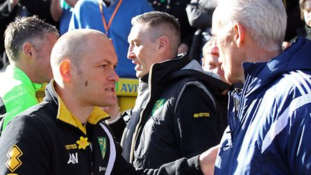 Norwich City manager Alex Neil is not worried by what rival Championship bosses have to say. Picture