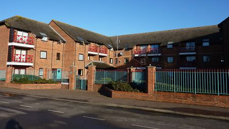 Saxon Court, a sheltered housing complex in Hall Lane, North Walsham, owned by Victory Housing Trust