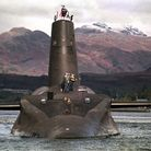 One of the Royal Navy's Trident-class nuclear submarines