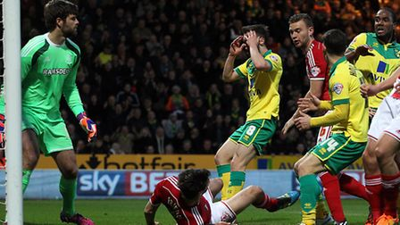 Jonny Howson is not dwelling on his missed chance in Norwich City's 1-0 Championship defeat to Middl