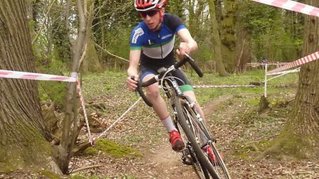 Winner James Madgwick stays upright at an amazing angle at the second round of the Norfolk Summer Cy