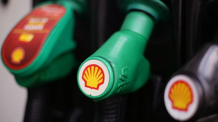 File photo dated 08/04/15 of Shell logos on petrol pumps at a petrol station in London, as the oil g