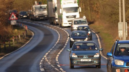Drivers face disruption on the roads this morning. Picture: DENISE BRADLEY