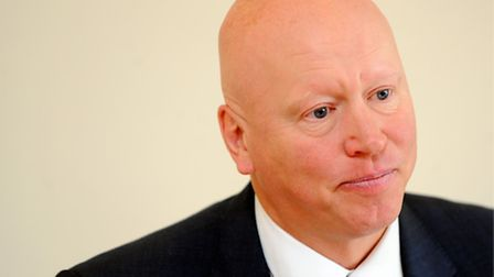 Aidan Thomas, who took up his post as chief executive of CPFT after stepping down as chief executive