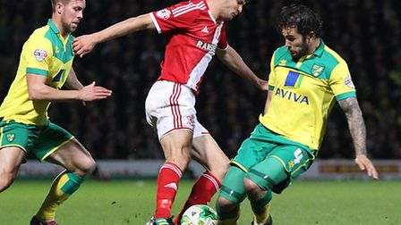 Norwich City midfielder Bradley Johnson was overlooked in the voting for the Championship player-of-