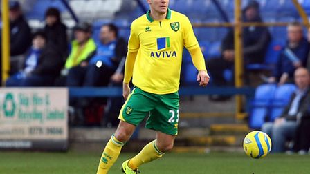 Former Norwich City defender Marc Tierney has had to retire due to an ankle injury. Picture by Paul