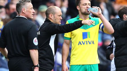 Norwich City captain Russell Martin is looking forward to the special Elland Road atmosphere. Pictur