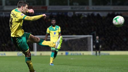 Norwich City midfielder Wes Hoolahan was named in the Football League team-of-the-decade at the annu
