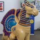 King Tut - created by artist Helen L Smith
