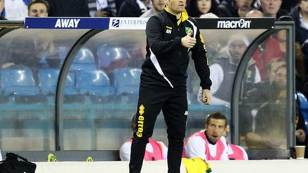 Norwich manager Alex Neil is not banking on slip ups for Championship promotion rivals. Picture by P