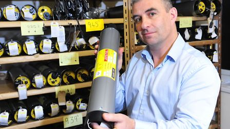 EDP business feature at Applied Acoustics, Yarmouth.Gavin Willoughby.