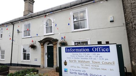 North Walsham Town Council offices.Picture: ANTONY KELLY