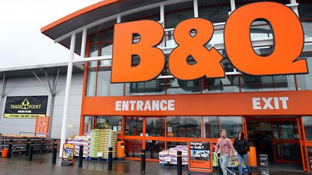 B&Q store in Ballymena, County Antrim. The home improvement chain is to close as many as 60 stores o
