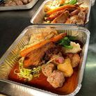 Street Flavours at The Blue Boar pub in Sprowstonis one of the places in Norfolk offering takeaway roast dinners.