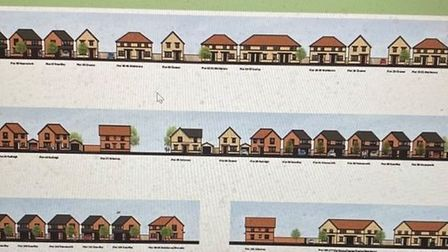 Barratt Homes offered an idea of the sort of housing they propose to build in Whittlesey.