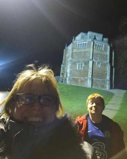 Kerry Robinson and her son Isaac are walking 100 miles for the Queen Elizabeth Hospital King's Lynn Charitable Fund.