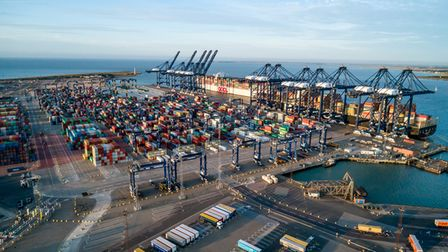 The Port of Felixstowe could be powered by hydrogen in the future