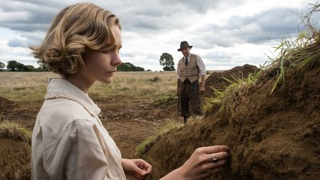 Netflix film The Dig with Carey Mulligan and Ralph Fiennes is centred around the burial mounds at Sutton Hoo