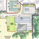 Proposed site of an £8.4m care suite at the Princess of Wales Hospital, Ely. They are mostly for those with complex needs...