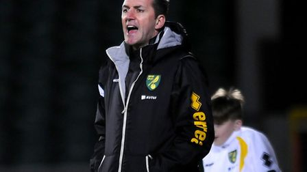 Norwich City U21s coach Paul Wilkinson aims to turn on the style again on Wednesday night at Carrow