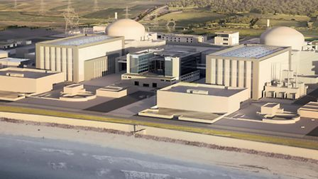 EDF of the how the new Hinkley Point C station. PRESS ASSOCIATION Photo. Issue date: Wednesday Octob