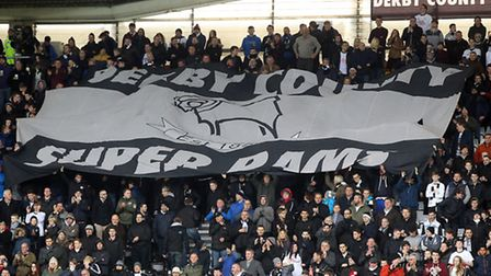 Some Derby fans protested at ticket prices for their game at Norwich - but were quiet over a similar