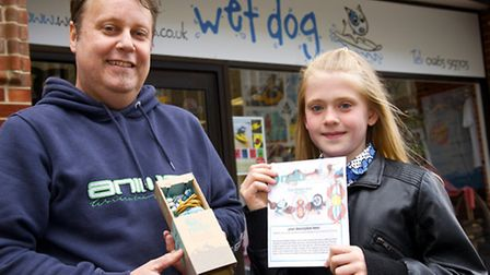 Juliet Price-Thomas of Cromer who won the competition to design and Nalu surf bead for Cromer pictur