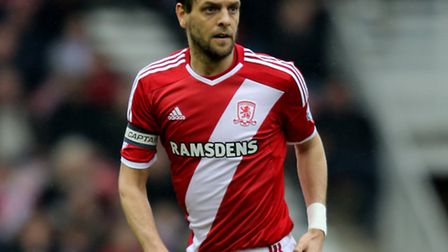 Middlesbrough's Jonathan Woodgate aims to plot a Premier League return at Norwich's expense. Photo: