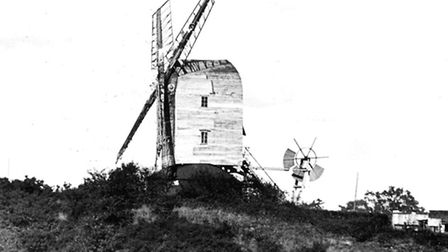 Mills and Windmills Sprowston Windmill. This picture of the old mill that used to look over Mousehol
